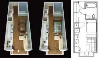 micro studio plan micro apartments make space in columbus