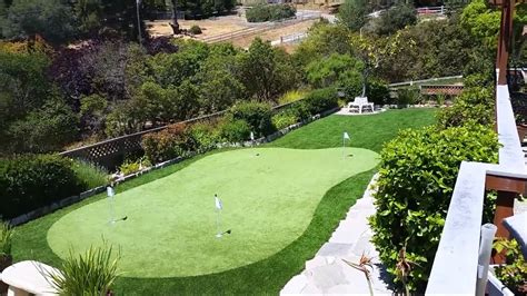 how to build a backyard putting green install your own backyard putting green l putting green turf gogo papa