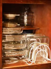 10 creative ideas to organize baking dishes storage on