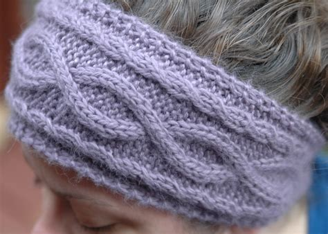 how to knit a ear warmer 6 simple yet cable knit headband patterns sizzle