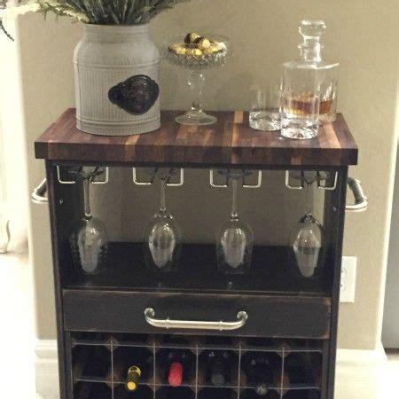 ikea rast hack a dresser becomes a bar cart bar carts ikea rast hack turned into a wine cart via helloilivehere