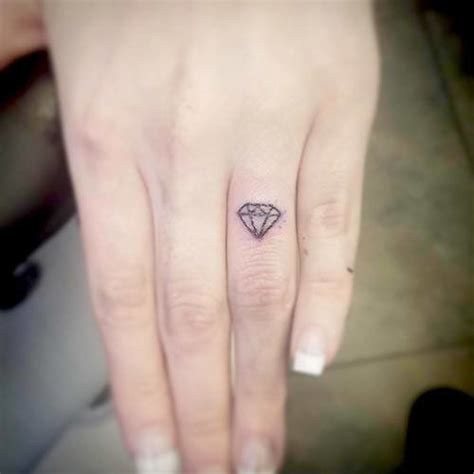 Diamond Tattoo Mini | 69 mini tattoo ideas with meanings revealed for 2017