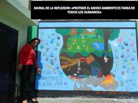 mural de como cuidar el medio ambiente asherpennnet