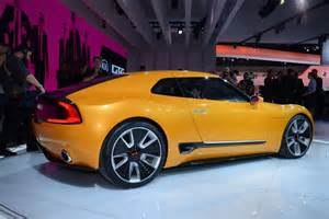 Kia Gt Stinger Kia Gt4 Stinger Concept Shows Its Quot Totally Selfish Design