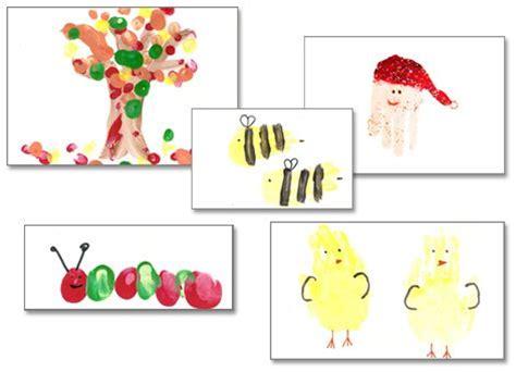 great family christmas gift idea hand print art calendar