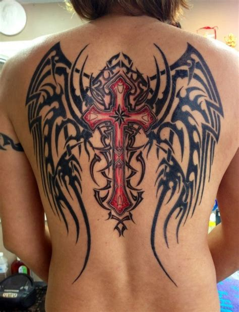 30 Angel Tattoos Designs Pretty Designs Back Wing Tattoos Designs