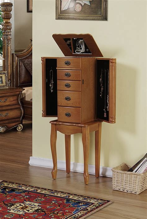 light oak jewelry armoire 25 beautiful oak wood jewelry armoires zen merchandiser