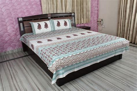 cotton bed sheets decorative bed sheets block print cotton bed sheet