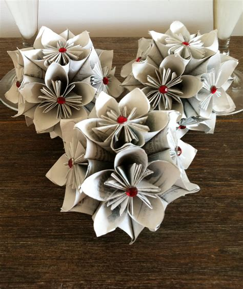 Origami Flower Ornament - kusudama balls sparkle living