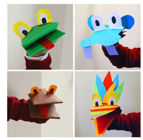 Construction Paper Crafts For Boys - puppets 171 babyccino daily tips children s