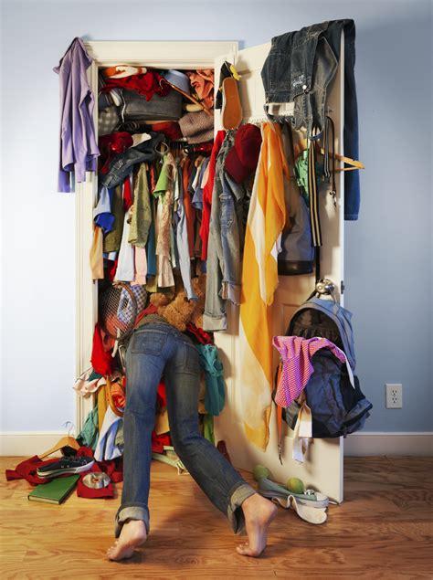 Stuffed Closet 3 cleaning spots ez storage