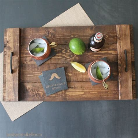 diy serving tray 17 best ideas about wooden serving trays on