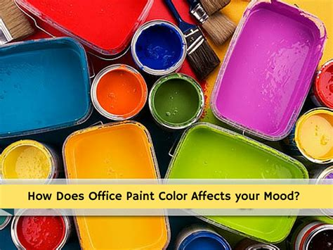 how does office paint color affects your mood