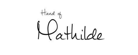 printable handwriting fonts quot mathilde quot free handwritten cursive hybrid opentype font