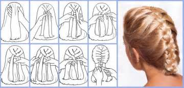 how to braid hair step by step how to make beautiful french braid yourself a simple to
