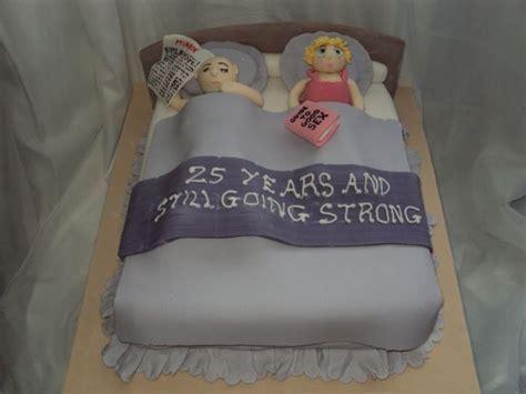 Funny 25th Anniversary Cake,   25th Anniversaire De Mariage