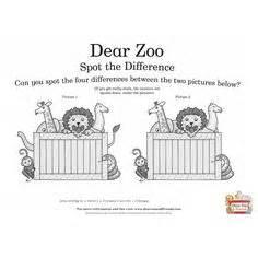 themes of zoo story pinterest preschool zoo dear zoo flap book printable
