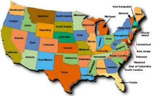 united states map with capitals and state names clipart best
