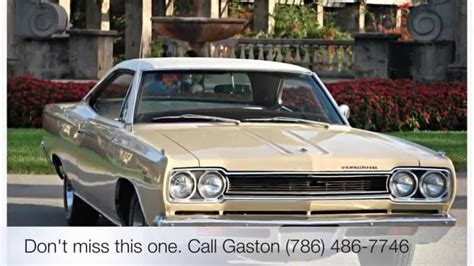 this is plymouth sport 1968 plymouth sport satellite