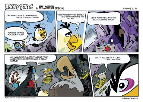 imagenes halloween comicas angry birds seasons comic halloween let s learn about