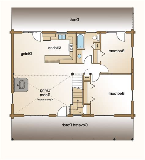 small guest house floor plans regarding small home floor