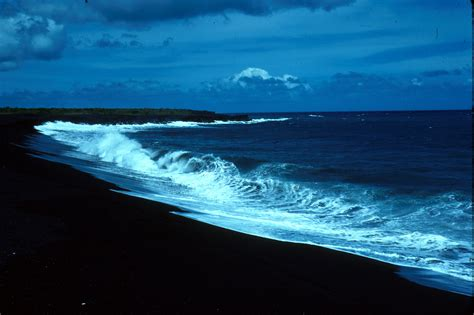 beach black sand beach of black sand wallpapers and images wallpapers