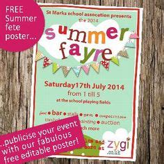 summer fair flyer template summer fair published pta templates and poster kits pta summer fair pta and
