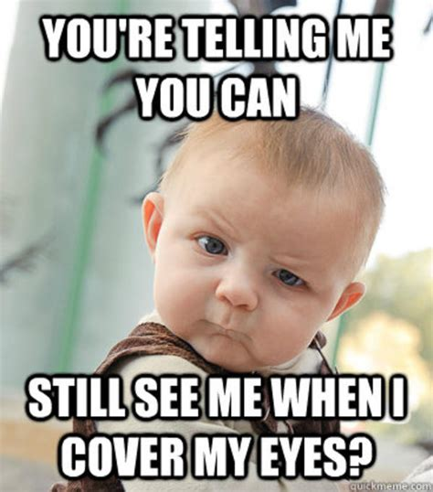 Skeptical Baby Meme - image 236230 skeptical baby know your meme