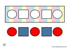 pattern activities early years shape activities on pinterest 108 pins