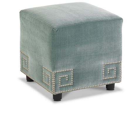 chinese ottoman wholesale velvet fabric home goods square ottoman stool