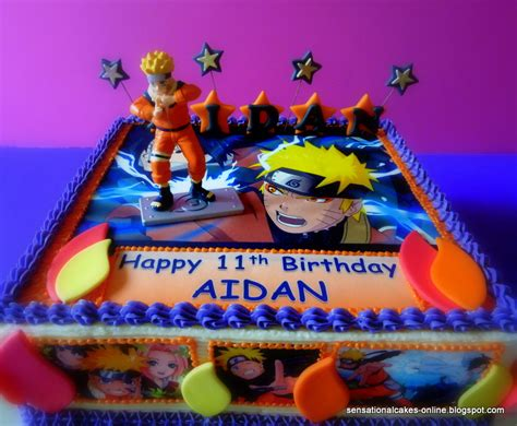 Minions Party Decorations Naruto Cake Sensational Cakes