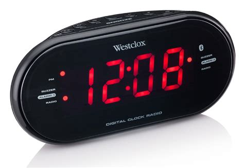 Speaker Bluetooth Portable Lcd Digital Clock Black digital alarm clock radio kmart digital alarm clock radio