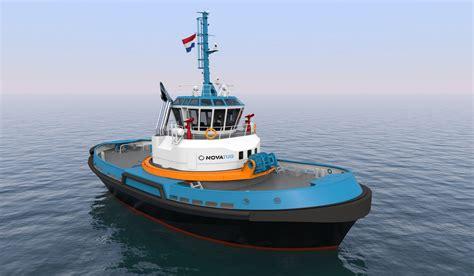 tugboat design multraship and damen agree deals for carrousel rave tugs