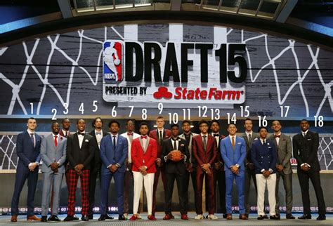nba better draft class sportz 2015 nba draft fashion the the bad and the