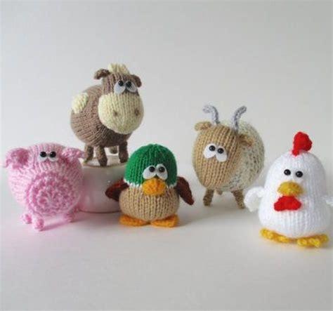 knit animals farm animal knitting patterns in the loop knitting