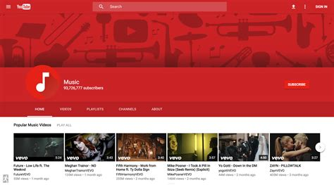 new youtube channel layout 2016 new youtube layout gallery