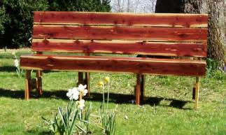 Cedar Bench Cedar Garden Benches Sliders Church Pews Red Cedar