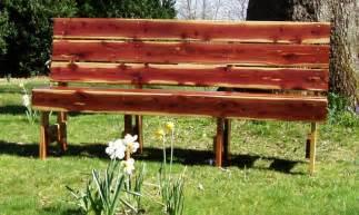 cedar garden benches sliders church pews cedar