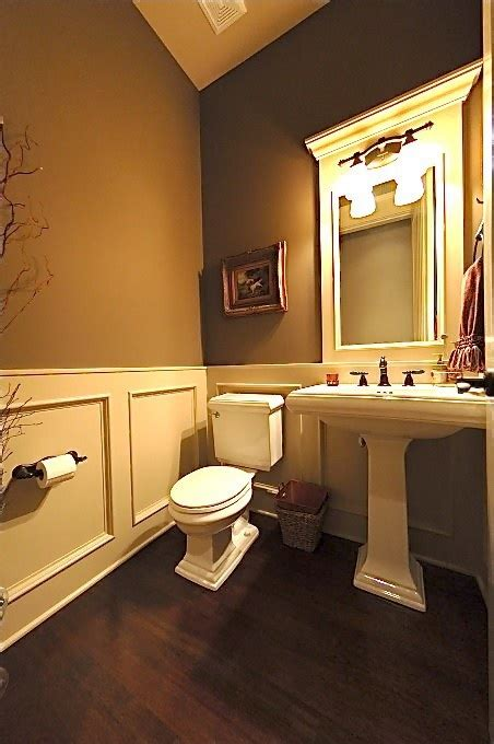 bathroom wainscoting for the home pinterest more of the faux wainscoting home sweet home