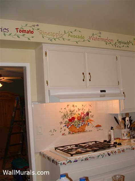 kitchen wall border ideas kitchen xcyyxh