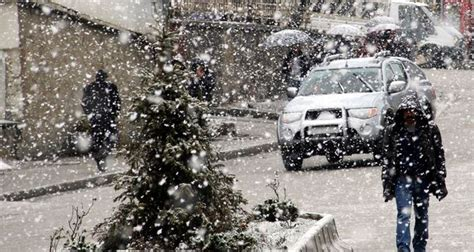 heavy snow expected in eastern turkey daily sabah