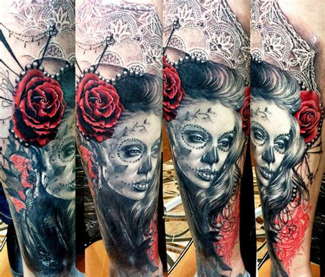 black and red tattoo muerte black and by zsofia belteczky no 1071