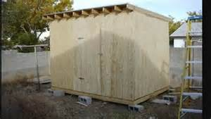 shed plans flat roof building shed attached to house