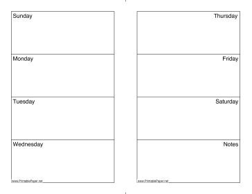 monday through saturday calendar template printable weekly calendar sunday saturday