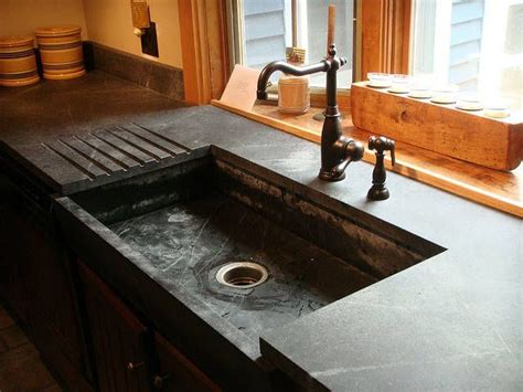 Soapstone Sink Counter Home Dec Pinterest Soapstone Kitchen Sink