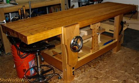 split top roubo workbench  wood whisperer guild