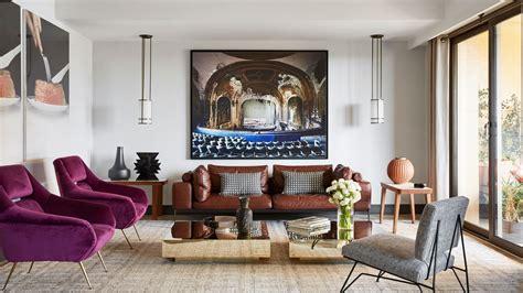 mid century modern home design blogs an explosion of mid century modern design in a monaco apartment
