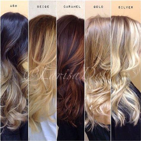 color melt hair styles colour chart ash and caramel color on pinterest