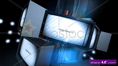 Revostock After Effects Templates Free by Retro Tv Presentation After Effects Project Revostock