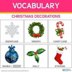 pictures on christmas decorations vocabulary easy diy
